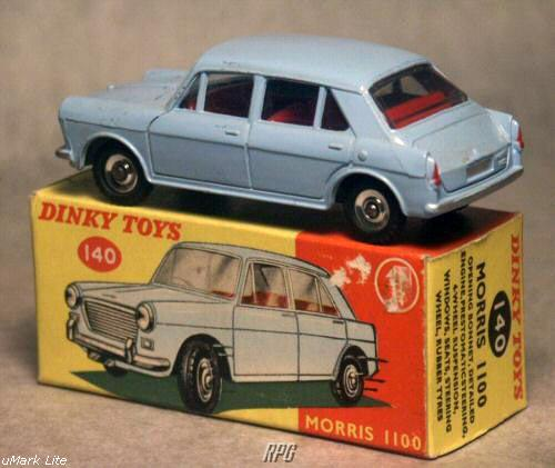 Dinky Toys ID, values, numbers and images