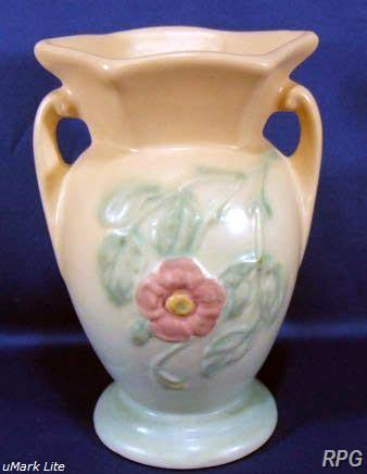 Hull Pottery Price Guide Dogwood Pattern