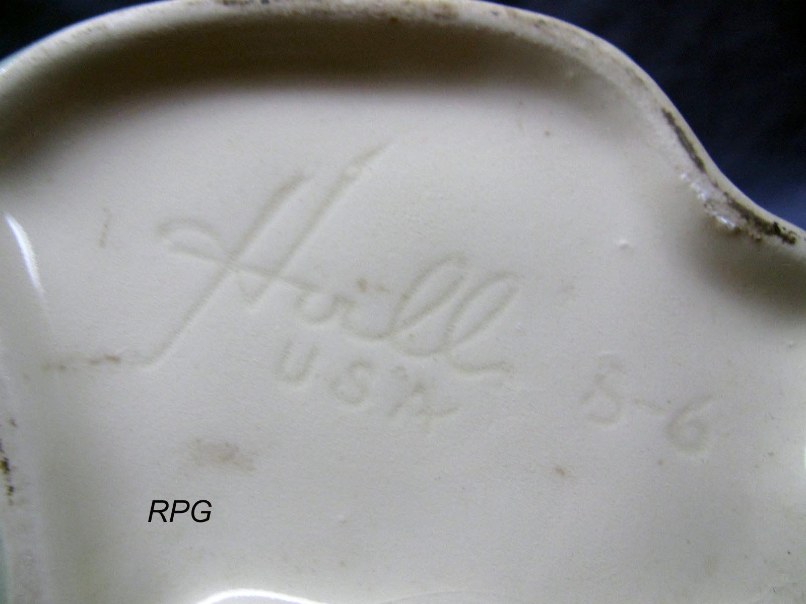 Pottery Marks And Signatures Roseville Hull Watt