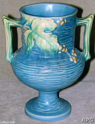 Roseville Pottery Bushberry Pattern Values And Images