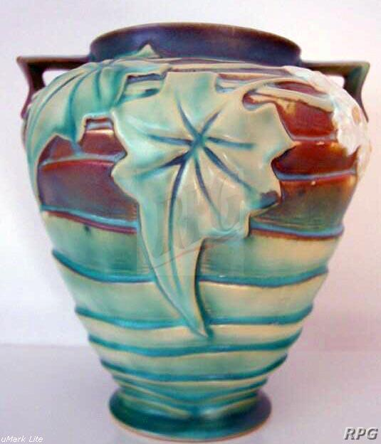 Roseville Pottery Luffa Pattern Values And Images