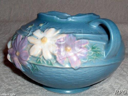 Roseville Pottery Cosmos Pattern Values And Images